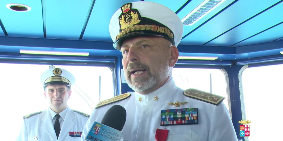 La Legion d'Honneur all'Ammiraglio De Giorgi