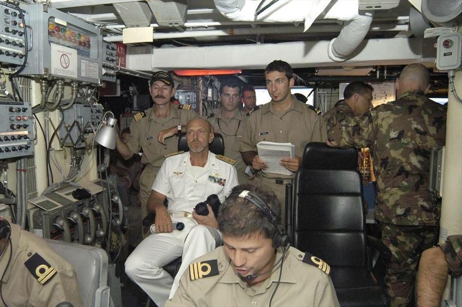 Ammiraglio Giuseppe De Giorgi - Missione Libano - Fasi preparatorie lo sbarco