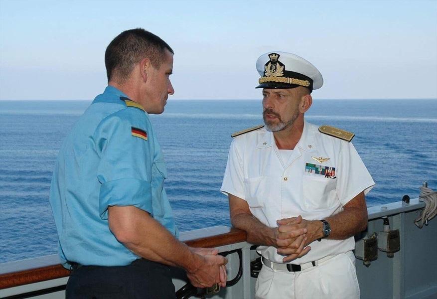 Ammiraglio Giuseppe De Giorgi - Missione Libano