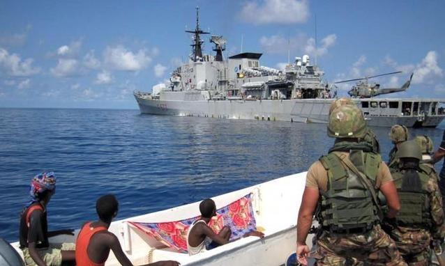 Ammiraglio Giuseppe De Giorgi - Pirateria in Somalia