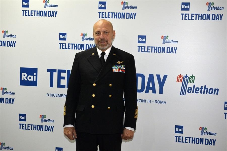 Il mio impegno con Telethon - di Ammiraglio Giuseppe De Giorgi