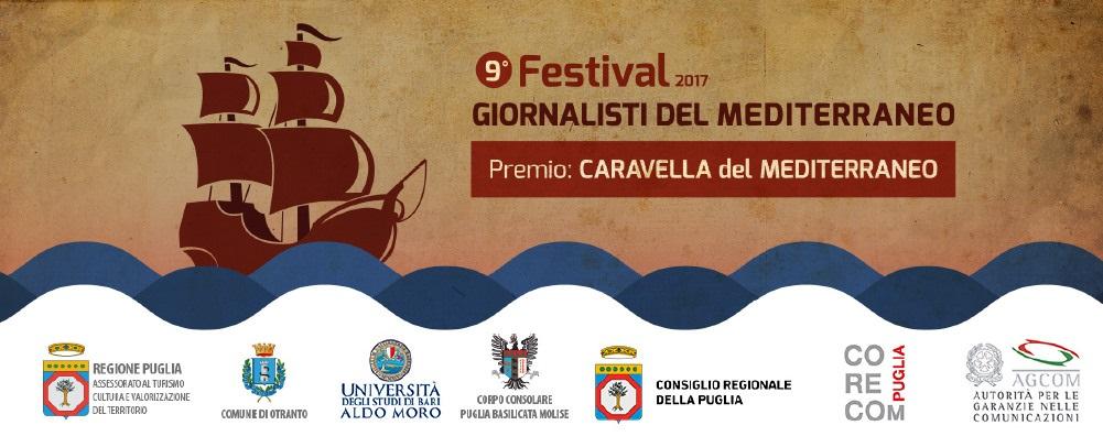Festival 2017 - Giornalisti del Mediterraneo - Premio Caravella del Mediterraneo
