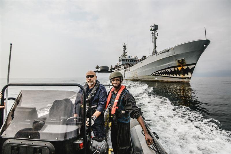 Ammiraglio Giuseppe De Giorgi - Sea Shepherd - Gabon e nuove sfide