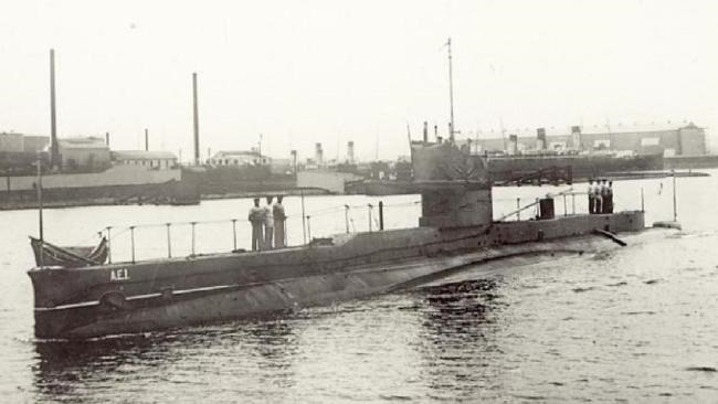 Ritrovamento sottomarino australiano