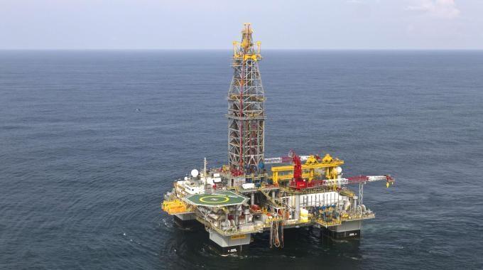 Ammiraglio Giuseppe De GIorgi - Produzione di petrolio offshore