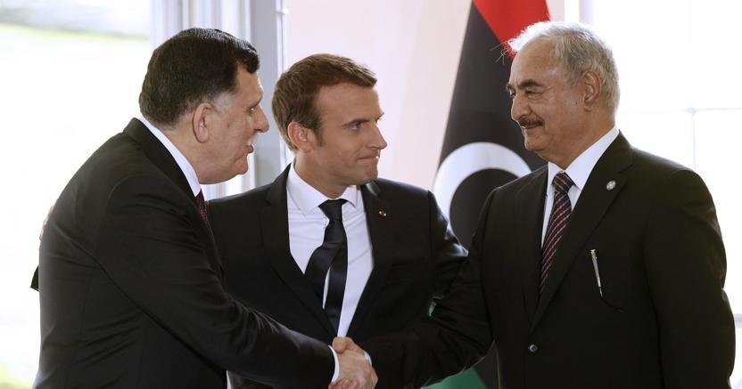 Ammiraglio Giuseppe De Giorgi - Al-Serraj e Haftar, due contendenti per il governo della Libia