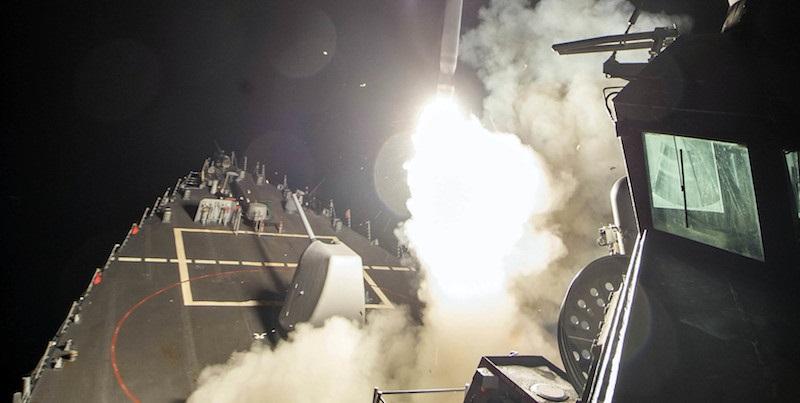 Da dove sono stati lanciati i missili in Siria