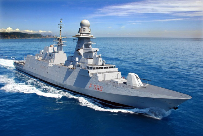 Ammiraglio Giuseppe De Giorgi - Pace fatta tra Leonardo e Fincantieri, ma la Francia non apprezzerebbe