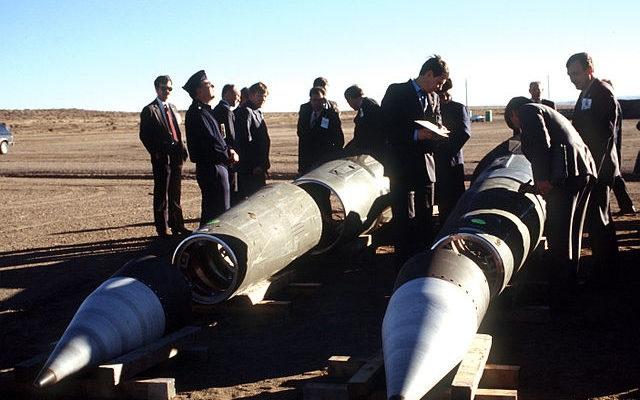 Ammiraglio Giuseppe De Giorgi - USA fuori dal trattato sul nucleare con la Russia