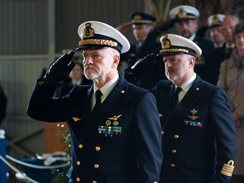 Ammiraglio Giuseppe De Giorgi - il discorso del nuovo Comandante in Capo della Squadra navali Ammiraglio di Squadra Paolo Treu