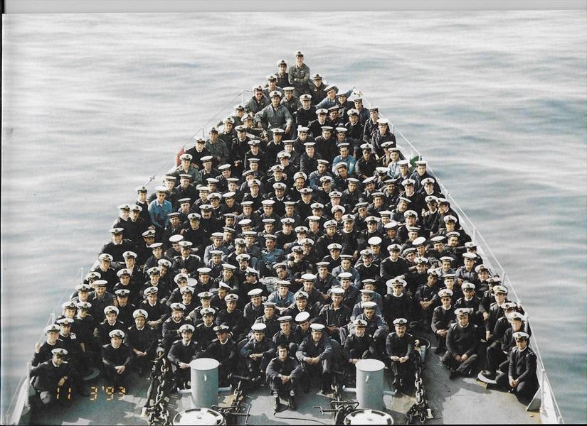 Ammiraglio Giuseppe De Giorgi - L'esperienza sul Libeccio