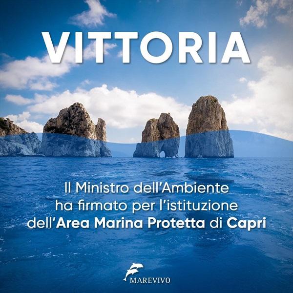 Ammiraglio Giuseppe De Giorgi - Finalmente istituita l'Area Marina Protetta di Capri!