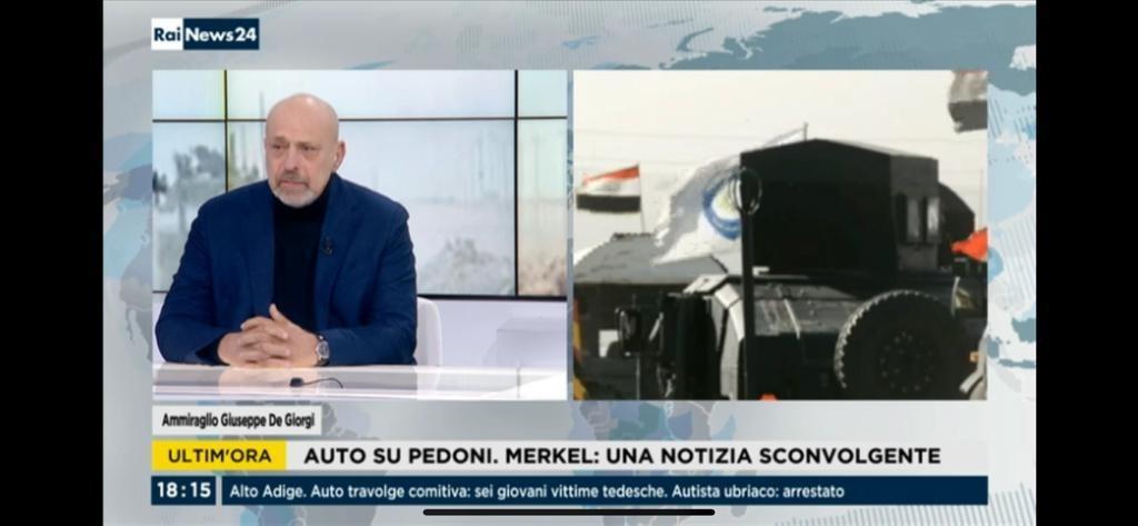 Ammiraglio Giuseppe De Giorgi - Rai News 24