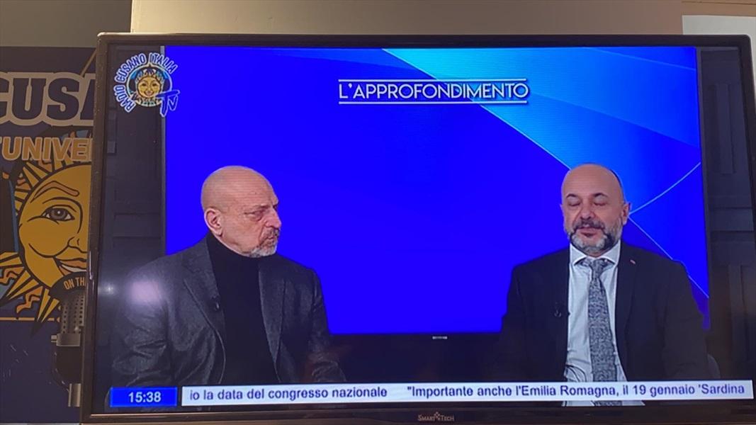 Ammiraglio Giuseppe De Giorgi - Radio Cusano Campus TV