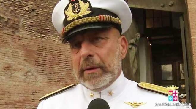 Ammiraglio Giuseppe De Giorgi - amarezza per due navi Fremm all���Egitto