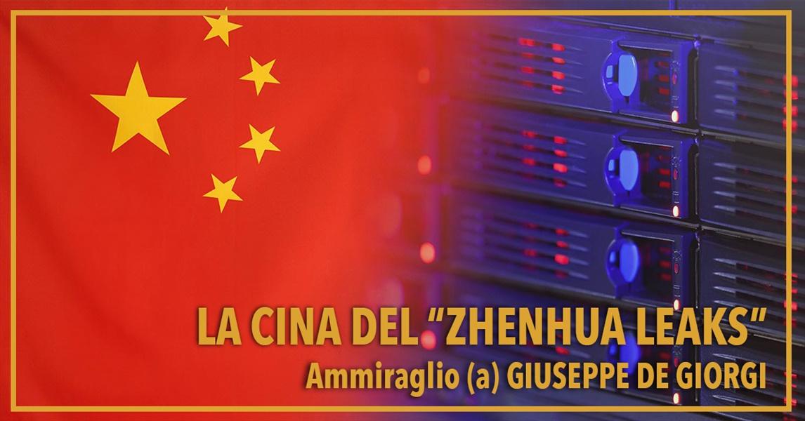 Ammiraglio Giuseppe De Giorgi - La Cina del ���Zhenhua Leaks���
