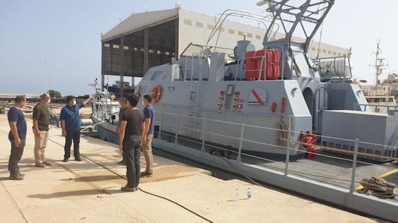 Ammiraglio Giuseppe De Giorgi - Guardia Costiera Libica sotto il controllo di Ankara