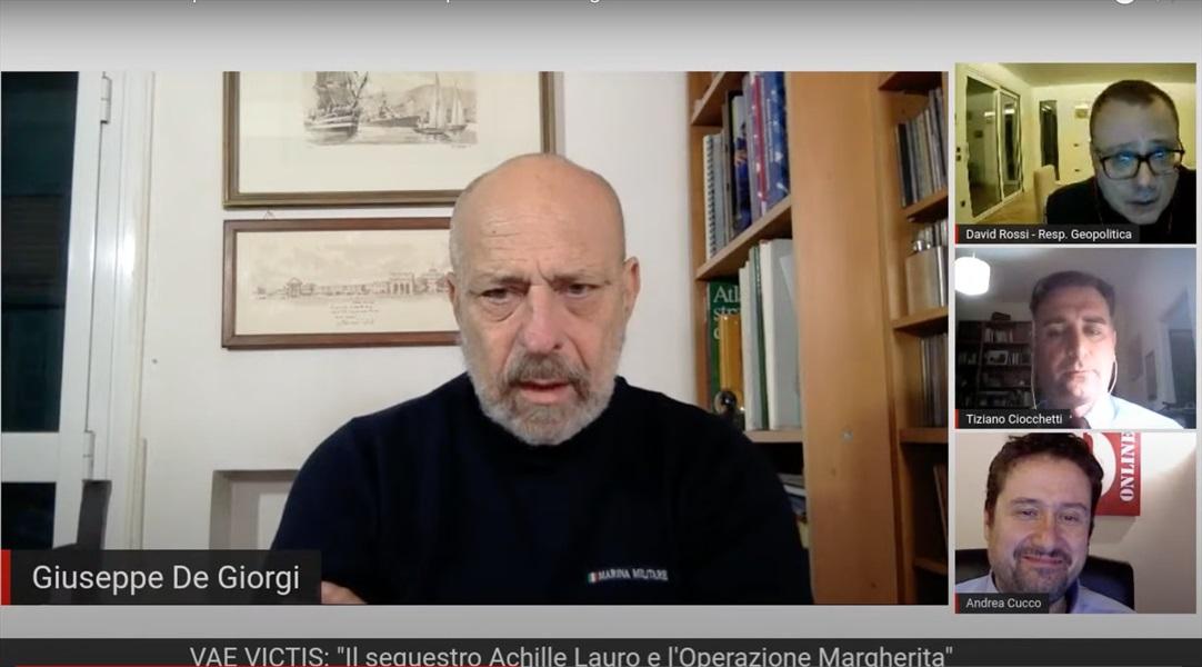 Ammiraglio Giuseppe De Giorgi - Vea Victis: Il sequestro Achille Lauro e l'Operazione Margherita